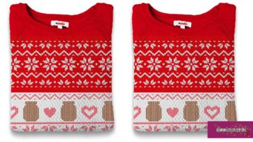 Vinci i maglioncini Nutella di Natale