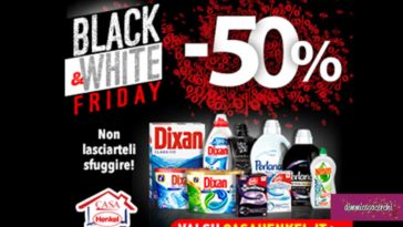 Casa Henkel: Speciale Black&White Friday
