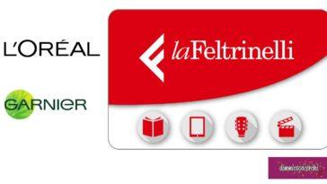 L'Oreal ti regala gift card La Feltrinelli