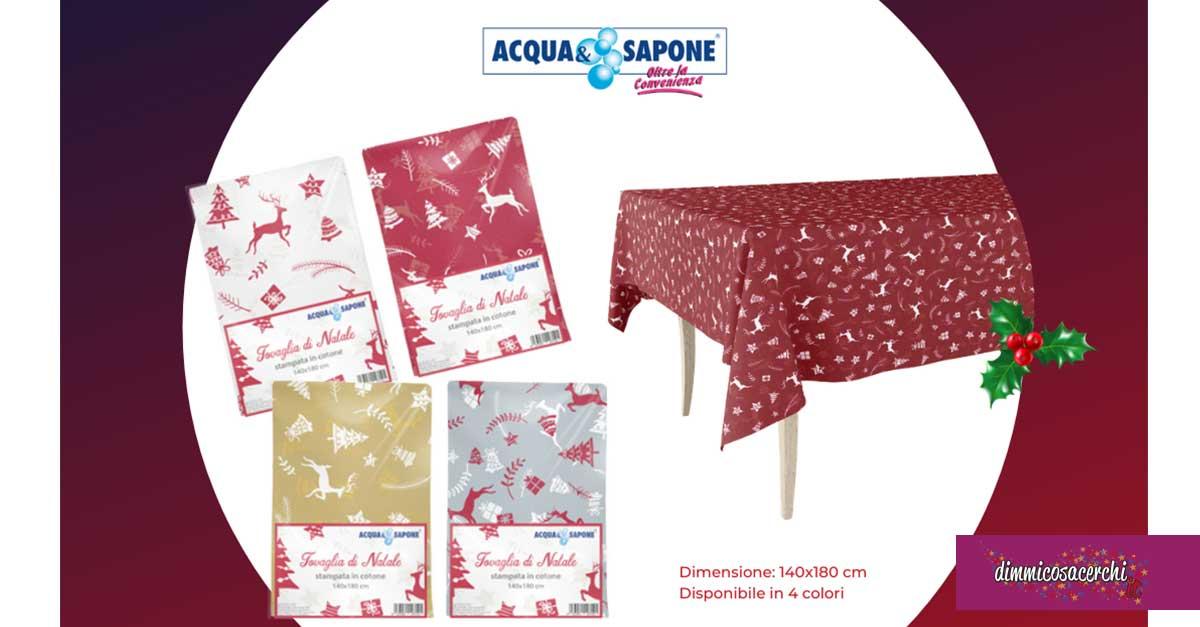 Tovaglia natalizia Acqua&Sapone