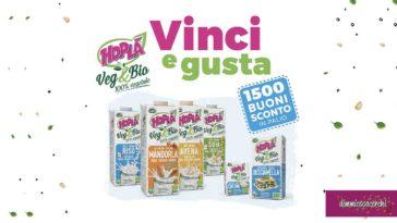 Vinci buoni sconto Hoplà Veg&bio