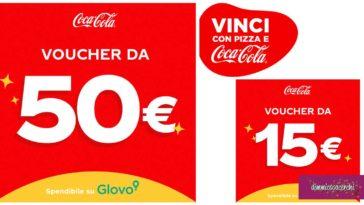 Vinci con Pizza e Coca-Cola