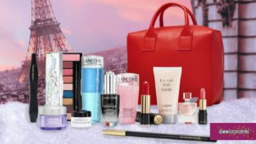 Vinci gratis la beauty box Lancome