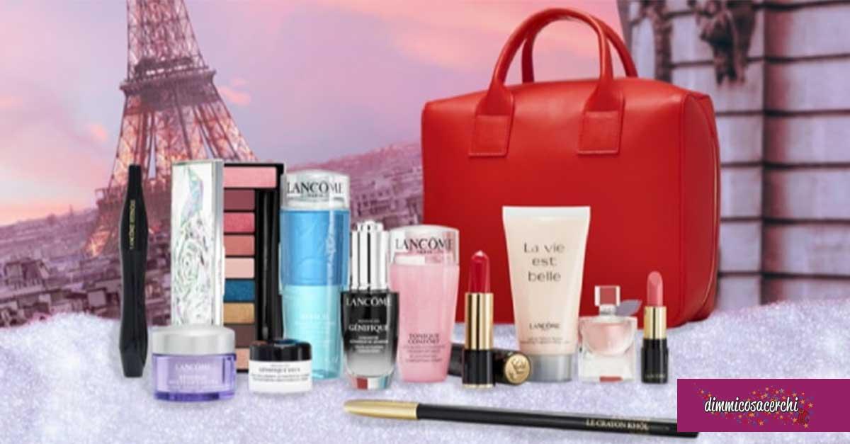 Vinci gratis la beauty box Lancome