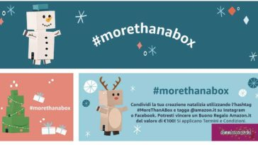 "Concorso Amazon ""More than a box"""