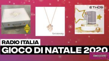 """Concorso """"Gioco Natale 2020 di Radio Italia"""""""