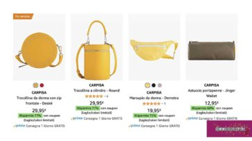 Carpisa: borse scontate fino al 77%