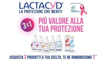"""Lactacyd """"Protetti e rimborsati"""