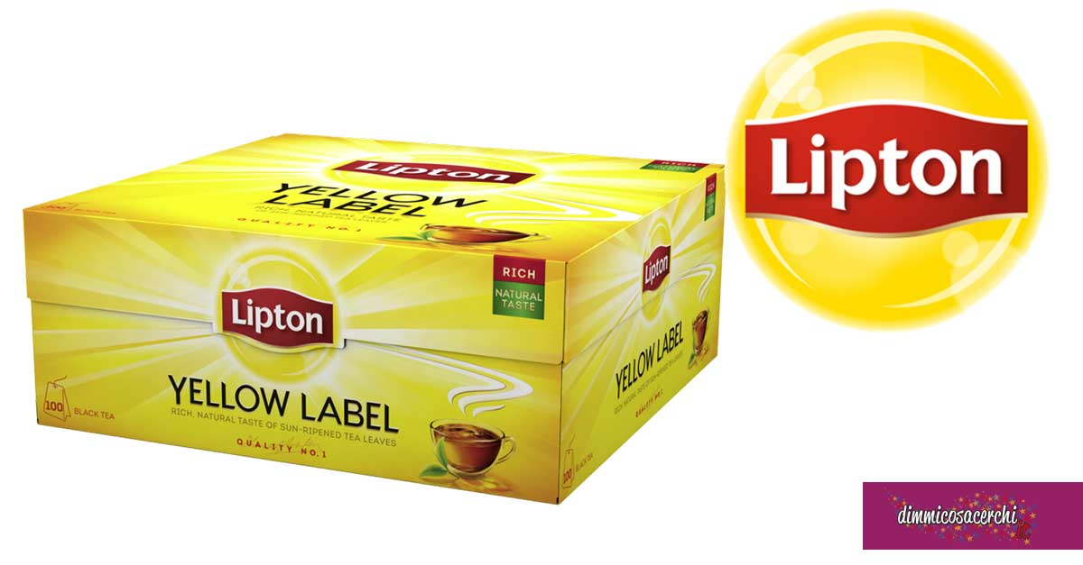 Scopri il gusto della natura con Lipton