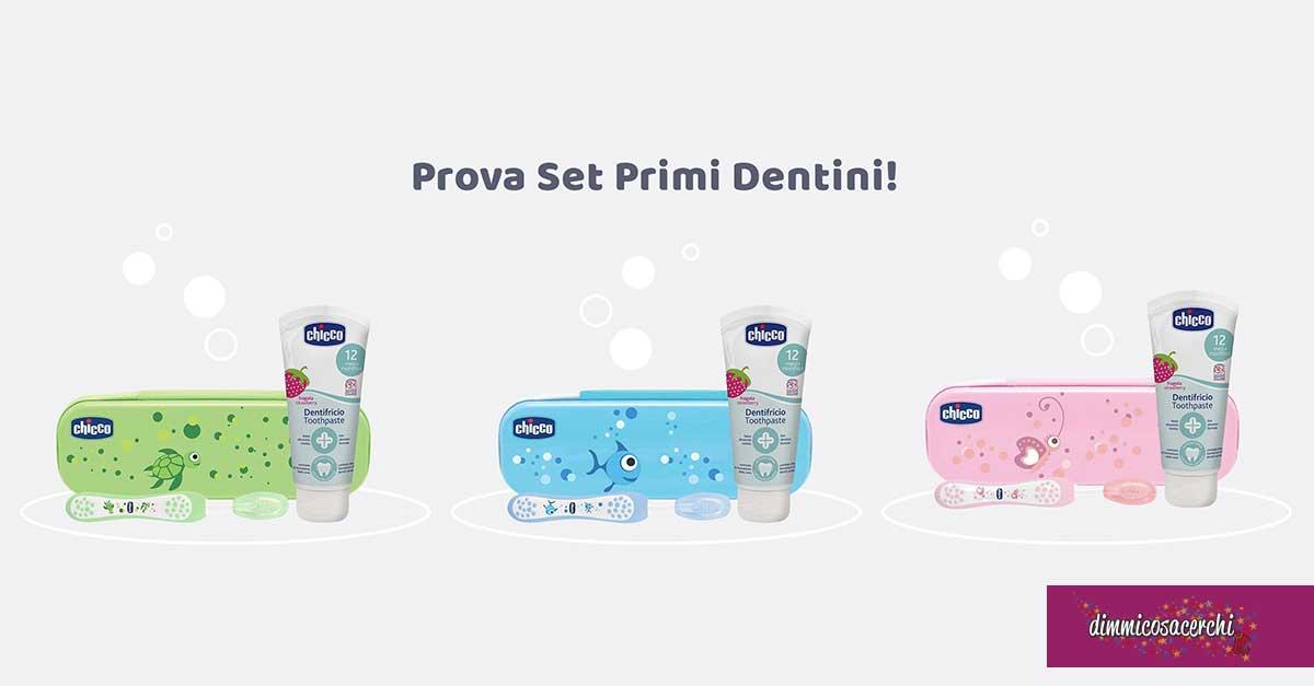 Set Primi Dentini Chicco: diventa tester