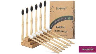 Spazzolino da denti in Bambù scontato