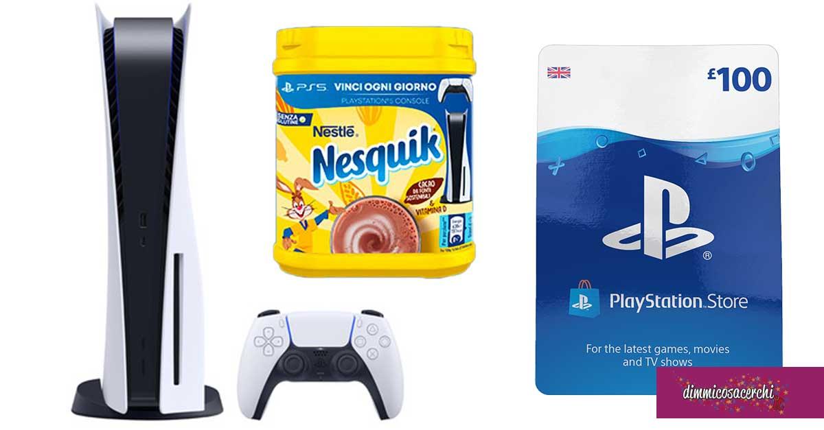 Nesquik: vinci Vinci Playstation 5