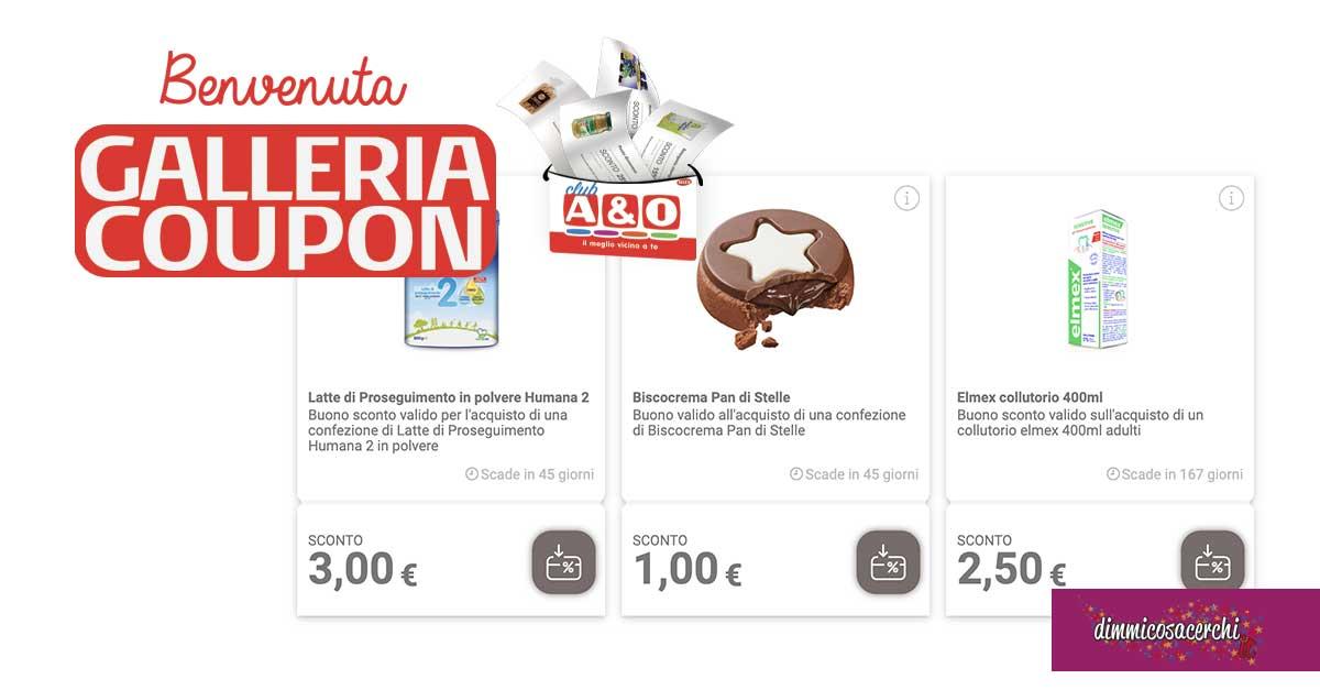 A&O coupon spesa