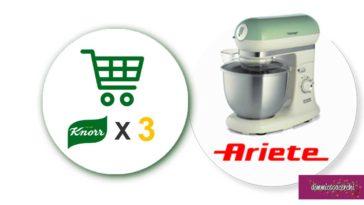 Buon cibo Knorr: vinci planetarie vintage Ariete