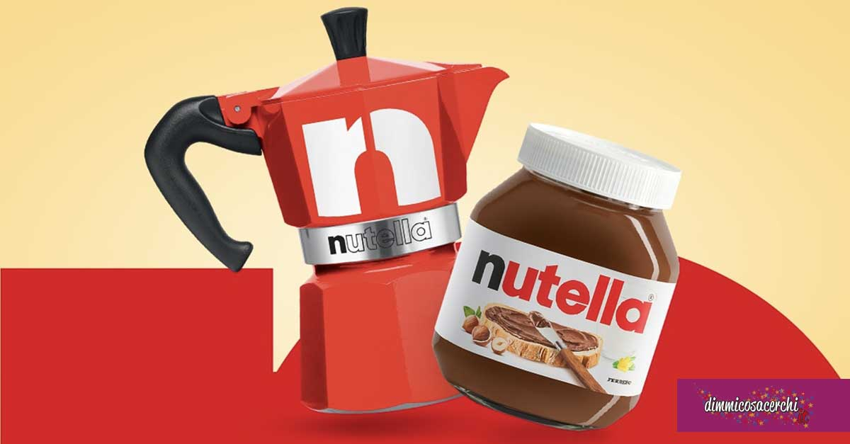 Nutella: vinci Moka Bialetti