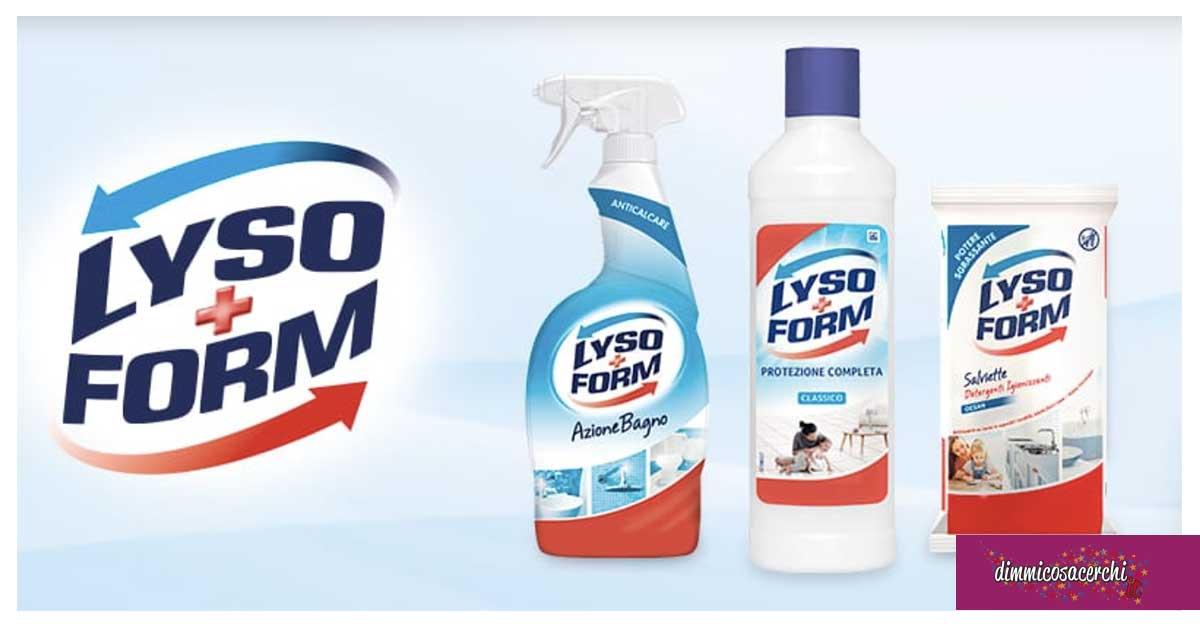 """Lysoform """"la protezione è di casa"""""""