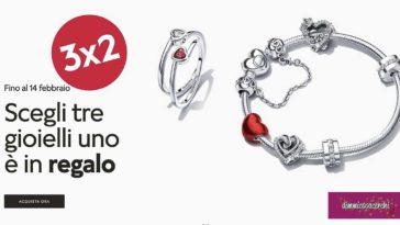 Pandora 3x2 San Valentino