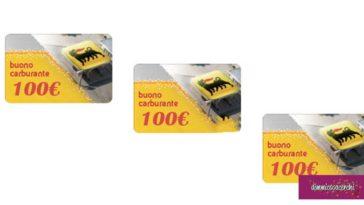 Fastweb: vinci Buoni Carburante Digitali Eni da 100€