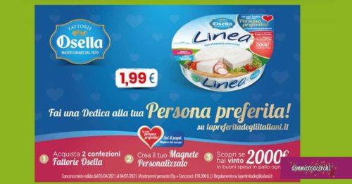 """Osella """"La preferita degli italiani"""