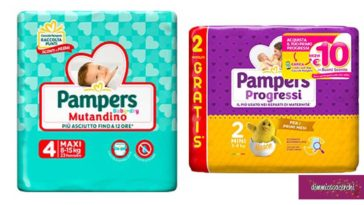 Pannolini Pampers: diventa tester