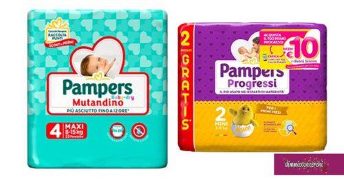 Pannolini Pampers: diventa tester