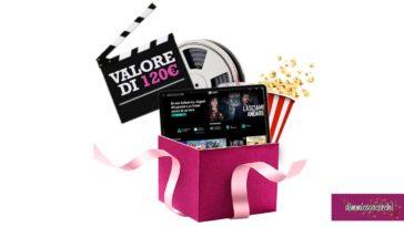Vinci 1 anno di cinema CHILI con Desideri Collection