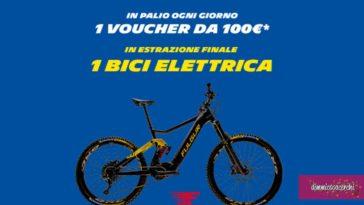 Concorso Michelin: vinci bicicletta elettrica e voucher da 100€