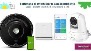 Amazon: settimana di offerte per la casa intelligente