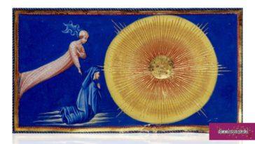 Dante e Beatrice in Paradiso