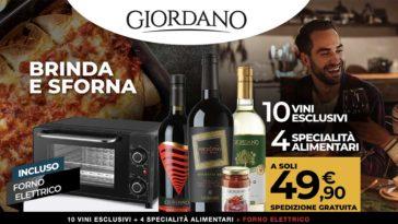 Giodano vini: offerta forno elettrico incluso