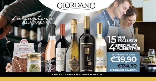 """La cantina della domenica"""" Giordano Vini"""
