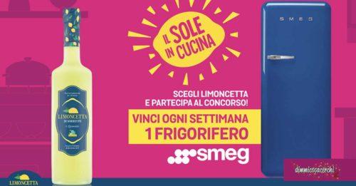 """Limoncetta """"Sole in cucina"""": vinci frigoriferi Smeg"""