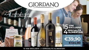 """Offerta Giordano Vini """"La cantina della domenica"""