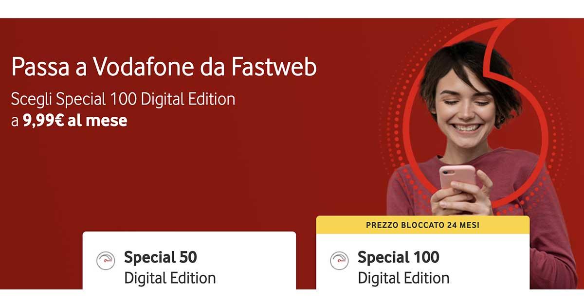 Passa a Vodafone da Fastweb