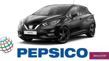 Pepsico regala Nissan