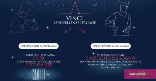 "San Pellegrino ""Vinci le eccellenze italiane"