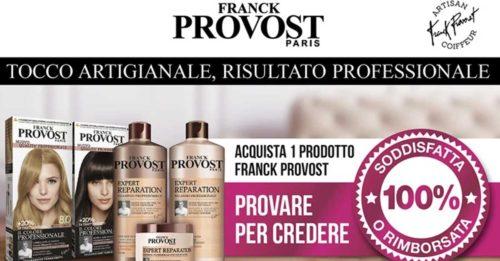 "Franck Provost ""Soddisfatti o Rimborsati"""