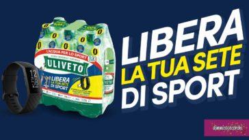 """Uliveto """"Libera la tua sete di sport"""""""
