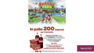 Vai a Gardaland con Coca-Cola