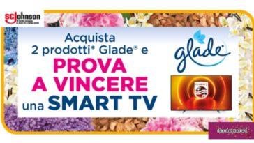 Vinci con Glade una nuova smart Tv