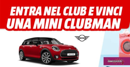 Vinci una Mini con Mediaworld