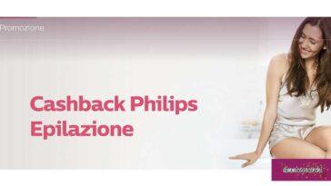 Cashback Philips Epilazione
