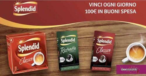 """Concorso Splendid """"Il caffè del buongiorno"""