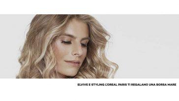 Elvive e L'Oréal Paris ti regalano una borsa mare