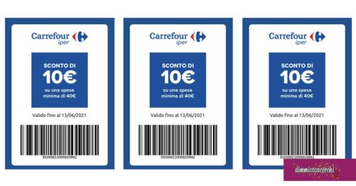 """""""Facciamo i buoni"""" Carrefour"""