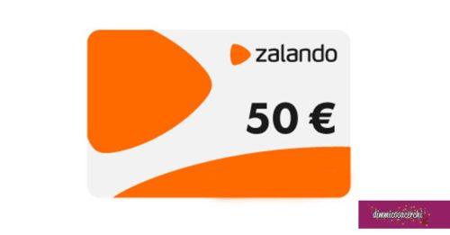 Fastweb: vinci buono regalo Zalando
