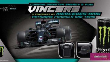 Monster Energy: vinci kit Mercedes-Amg