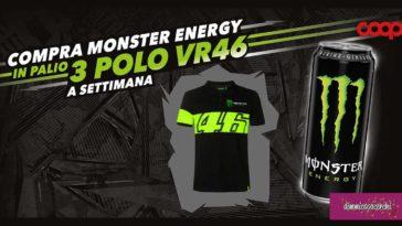 Monster Energy: vinci polo VR46