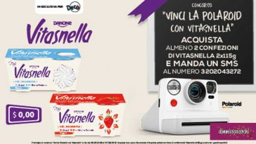 Vinci Polaroid con Vitasnella