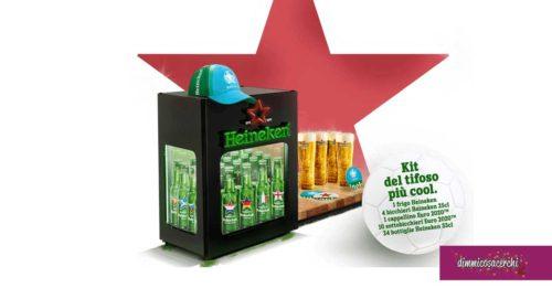 Vinci il kit del tifoso con Heineken